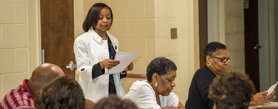 SAVING LIVES: FAITH-BASED PROGRAM TEACHES HEALTH AND WELLNESS PRACTICES TO LOCAL CHURCH CONGREGATIONS.