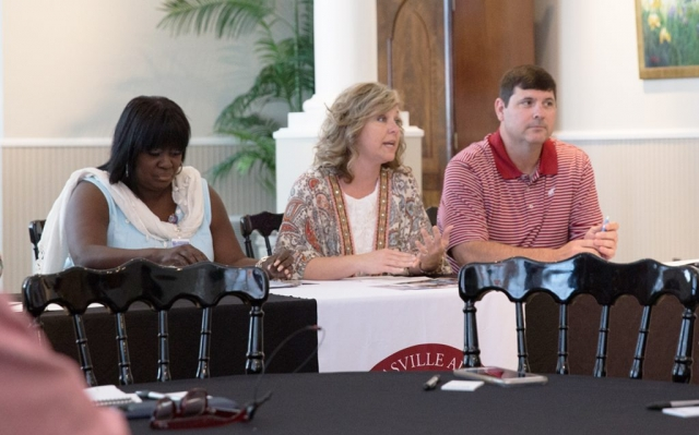 Day 3 panelists at the Civic Center discuss issues facing the city of Thomasville and the Black Belt.