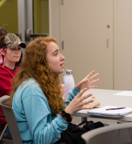 UA students raise questions about community engagement research.